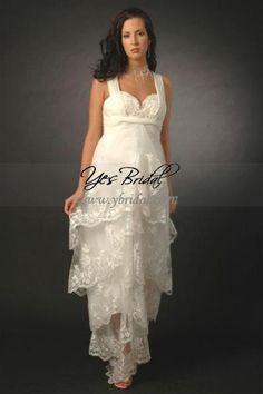 Nice Skirt, Short Beach Wedding Dress - http://casualweddingdresses.net/beach-wedding-ideas-be-a-stunning-beach-bride-on-your-own-beach-wedding/