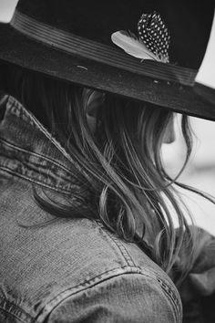 anaisdax:   Hat and denim Montana family... | PLAID & DENIM