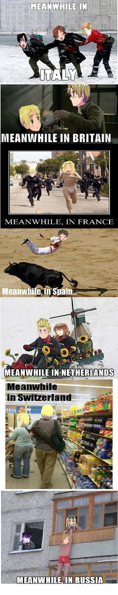 Meanwhile in Hetalia
