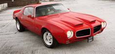 American Muscle Cars… Pontiac Firebird Formula 400