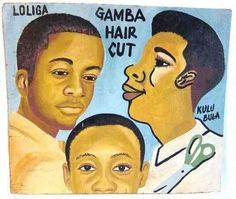 Ghana Rising: Objects of Desire: 'Ghana Barbershop Boards' from Bashiri West African Imports & Galleria….
