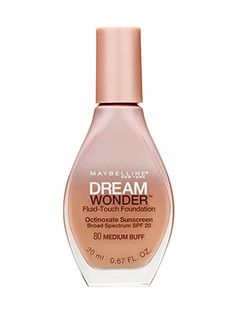 This lightweight foundation feels like nothing at all on skin and leaves behind a semimatte finish.
