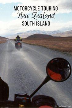 Motorcycle Touring New Zealand South Island #travel #adventure #newzealand