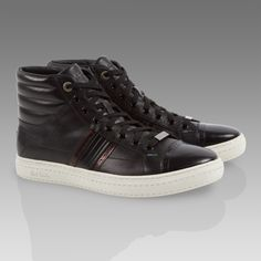 Paul Smith Shoes - Black Moran Trainers