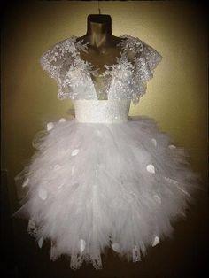 amazinggowns: Vestido del copo de nieve