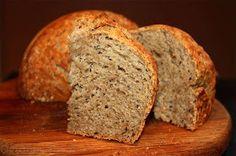No Knead Rye Bread