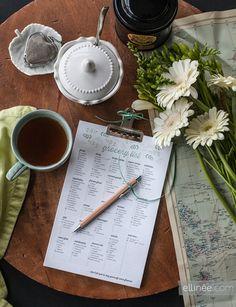 Editable diy grocery list printable check list | Ellinée | handcraft your life--FABULOUS PROJECT