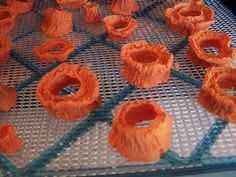 Dehydrating Sweet Potatoes for foraging and toys!