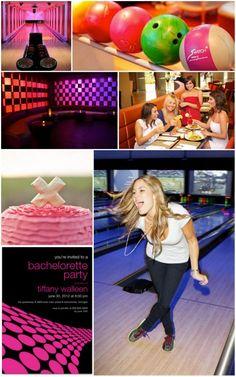 Bowling Bachelorette Party Inspiration