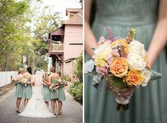 Amanda and Brad | Married © @Kristen Weaver