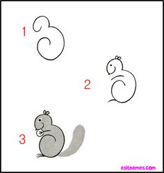 How to Draw Cute Animals images of how to draw animals easy step