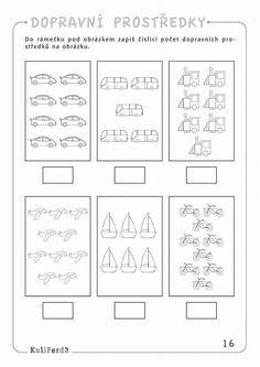Transportation Preschool Activities, Preschool Math, Preschool Worksheets, Kindergarten Activities, Activities For Kids, Cute Easy Drawings, English Lessons, Kids And Parenting, Mathematics