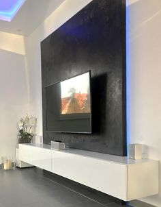 Tv Living Rooms, Tv Rooms, Living Room Colors, Living Room Designs, Living  Room Decor, Modern Tv Wall Units, Corner Tv Stands, Tv Units, Wall Mounted  Tv, ...