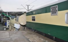 induction of new power vans in Pakistan railways