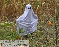 Running With Scissors: Easy DIY Ghost Costume