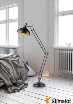 Φωτίστε όλους τους χώρους σας με μοντέρνο επιδαπέδιο φωτιστικό. Χρηστικό και εύκολο στην μετακίνηση, το κυρτό κομψό φωτιστικό θα δώσει μία διαφορετική όψη στον εσωτερικό σας χώρο!  #LightFixtures #Modern #Interior #Design #Klimafot Desk Lamp, Table Lamp, Salvador, Ikea, Home Appliances, Lighting, Design, Home Decor, Place