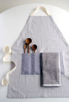 Adjustable Unisex Apron from purl bee