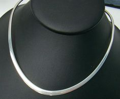 925 Stamped Sterling Silver 2.3mm Reversible Matte /& Polished Necklace