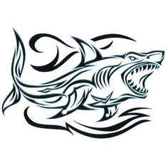 Shark Temporary Tattoos | eBay