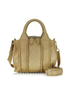 Alexander Wang Inside-Out Rockie Sling in Ecru Satchel at FORZIERI
