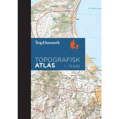 Topografisk Atlas Danmark - udkommer 15/11