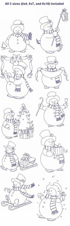 7 best Digital - Snowmen images on Pinterest | Christmas colors, Diy ...