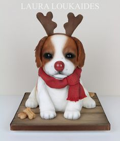 Rudy the Red-Nosed Puppy by Laura Loukaides
