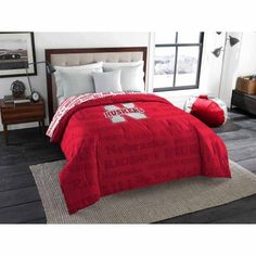 Ncaa Nebraska Cornhuskers Twin/Full Bedding Comforter, Multicolor