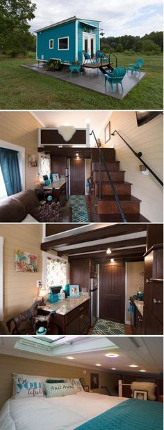 Built by Tiny House Chattanooga, Nixie is a 20 ft Tiny Home. The Nixie includes a full kitchen, living room, and a loft bedroom with s...
