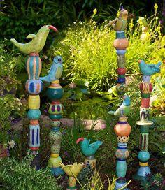 Barb Vanderbeck - totems http://barbaravanderbeck.com