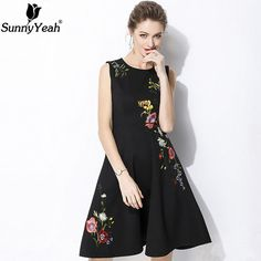 Formal and Casual Fashion Apparel For Men, Women and Teens For Winter, Spring, Summer and Fall Seasons. Sports Wear and Swim Wear Black Party Dresses, Summer Dresses, Formal Dresses, Short Frocks, Floral Embroidery Dress, Dress Outfits, Fashion Outfits, Frack, 1960s Fashion