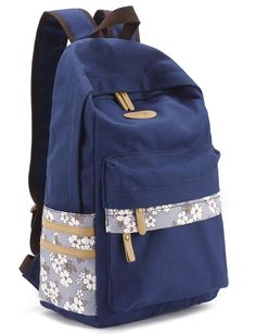 53bf48c730d5 Amazon.com  Leaper Casual Style Canvas Laptop Backpack  School Bag  Travel  Daypack · School BackpacksKids ...