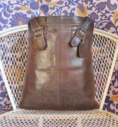 RARE Vintage Coach Large Tote Shopper Bag Bonnie Cashin Era Made In New York City, USA
