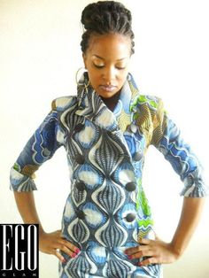 #jacket!   ~African Prints, African women dresses, African fashion styles, african clothing