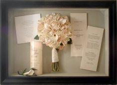 framed wedding invitation shadowbox | Wedding Shadow Box « Wedding Trends 2014, Wedding Inspiration Blog ...