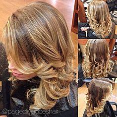 #hrvahairartistry @hrvahairartistry #samvilla #samvillahair @samvillahair #krissorbie @krissorbie #imallaboutdahair @imallaboutdahair @redken5thave  #redken #flashlift #ombre #guytang @guytang #blonde #curls #hairstyle @modernsalon @behindthechair_com #stylistshopconnect @stylistshopconnect @olaplex #olaplex #styleyourstory