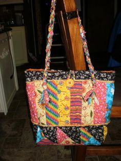 Sewing Ideas | Project on Craftsy: Happy bag