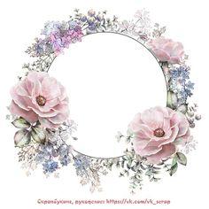 Pin by claudie on fleurs in 2019 Motif Floral, Floral Border, Floral Design, Decoupage Art, Decoupage Vintage, Flower Frame, Flower Art, Floral Frames, Eyebrow Embroidery