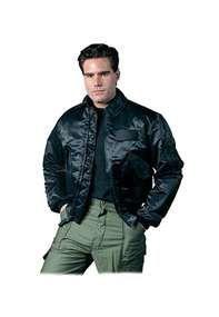 Black CWU-45P Style Flight Jacket