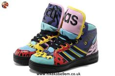 finest selection f7b3f ff22a Adidas X Jeremy Scott Big Tongue Shoes Color Discount Nike Kd Shoes, Nike  Basketball Shoes