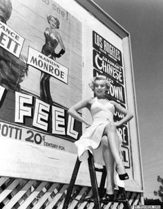 Marilyn Monroe promoting As Young as You Feel, 1951, directed by Harmon Jones.