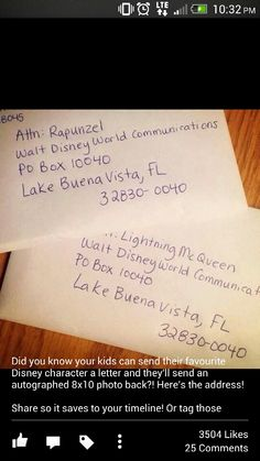 I am SOO trying this! #Disney #DIY #FanMail
