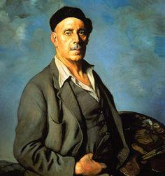 Ignacio Zuloaga y Zabaleta (España 1870 – 1945).  autoretrato