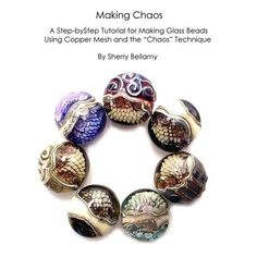 Tutorial   How to Use The  Chaos  Copper Mesh by SherryBellamy, $18.00