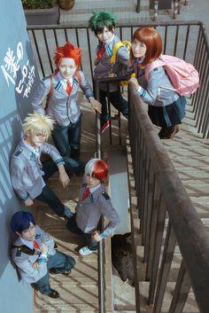 我的英雄学院 切岛锐儿郎 cosplay | 半次元-第一中文COS绘画小说社区