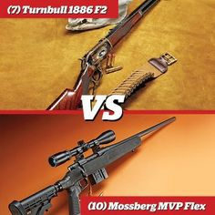 I love the Mossy MVP but theres no chance I'd pass on a TurnBull Rifle