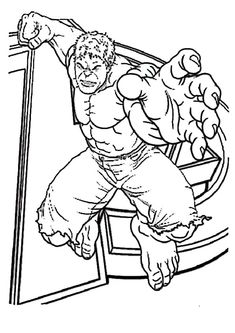 Avengers Coloring Pages Hulk Is The Big Green Machine That When Wrong Or Evil Done His Emotions Take Over