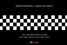 Your business is a game of chess !