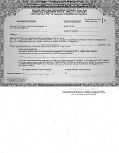Issuing our own American National Private Bonds Negotiable Instrument – Money Orders – Governmental Services Corporation Watch Birth Certificate, Certificate Templates, Negotiable Instruments, Promissory Note, Business Slogans, Good Morals, World Government, Money Order, Notes Template