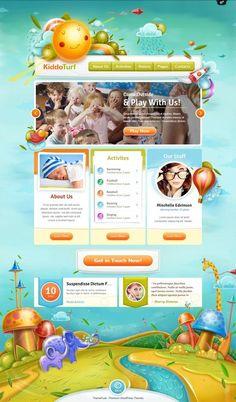 KiddoTurf WordPress Theme